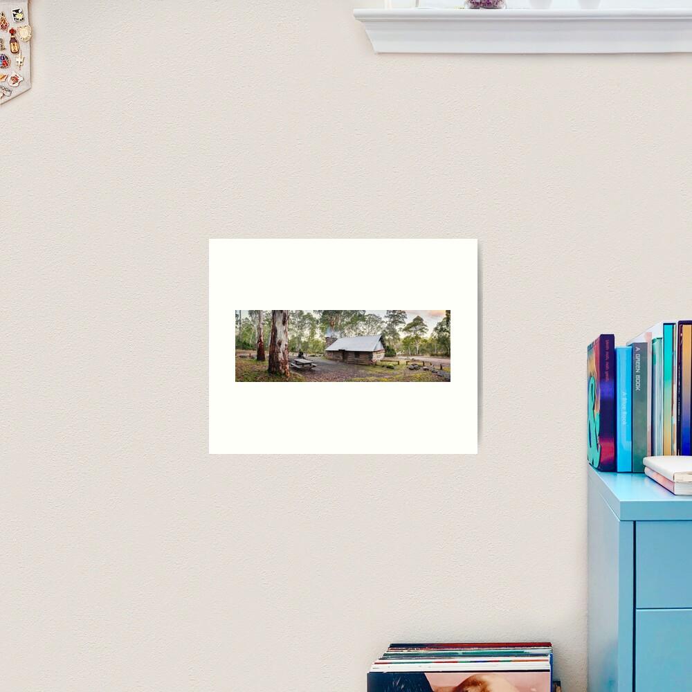 Moscow Villa Hut, Nunniong, Victoria, Australia Art Print