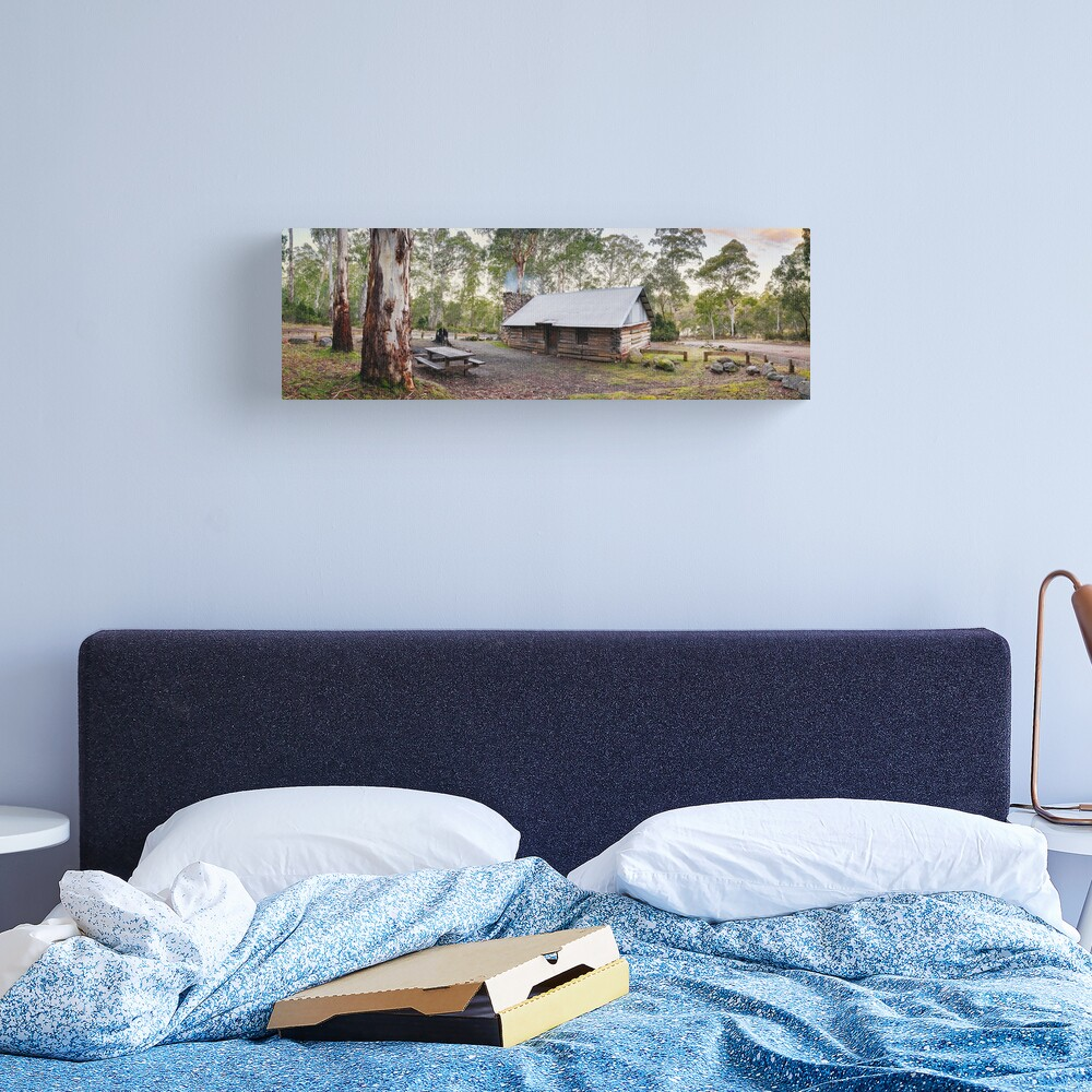 Moscow Villa Hut, Nunniong, Victoria, Australia Canvas Print