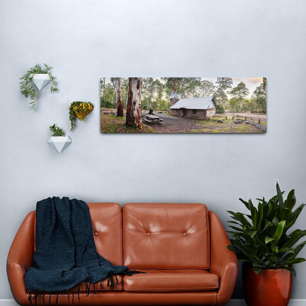Moscow Villa Hut, Nunniong, Victoria, Australia Metal Print