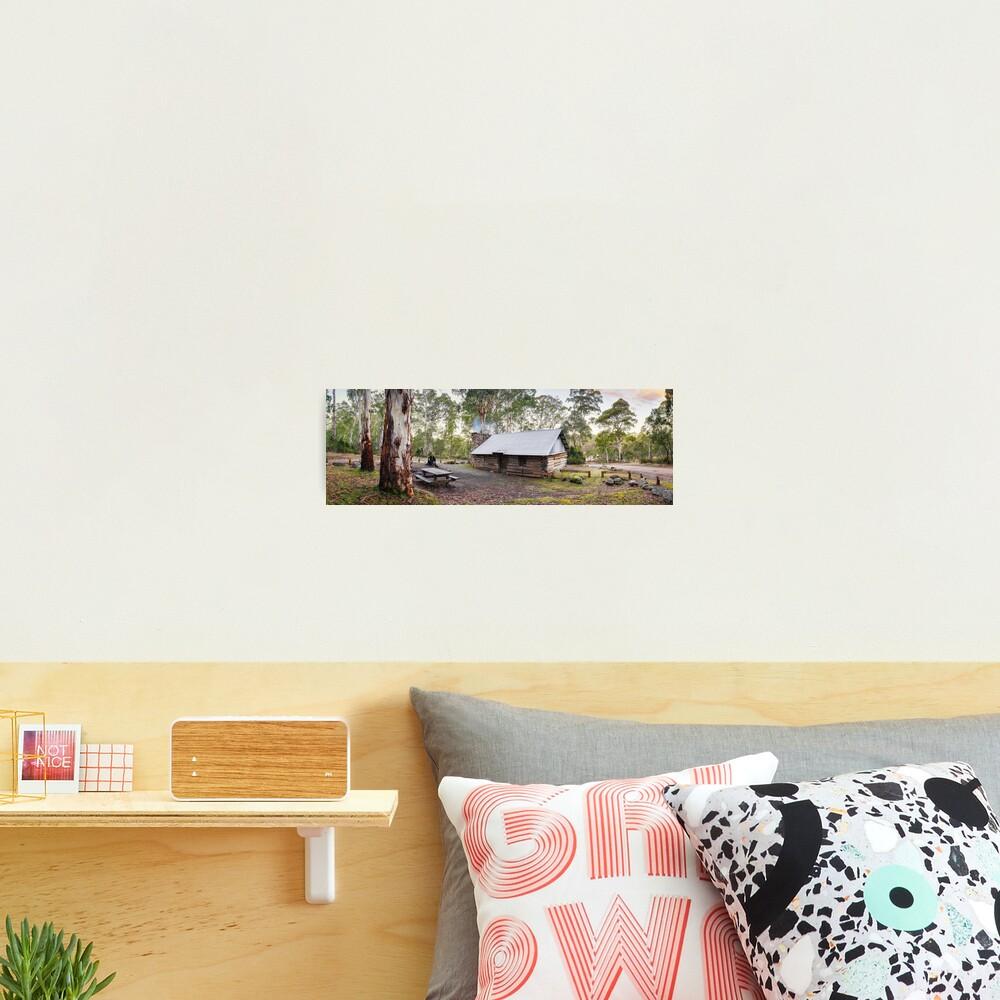 Moscow Villa Hut, Nunniong, Victoria, Australia Photographic Print