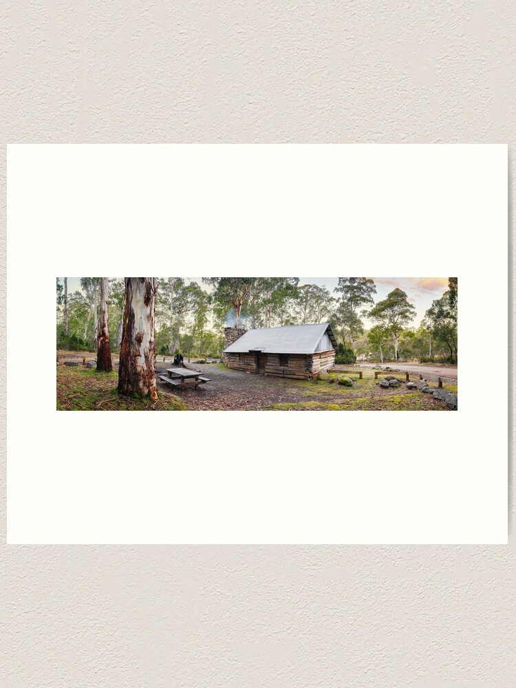 Alternate view of Moscow Villa Hut, Nunniong, Victoria, Australia Art Print