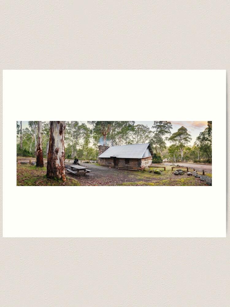 Alternate view of Moscow Villa Hut, Nunniong, Victoria, Australia Art Print