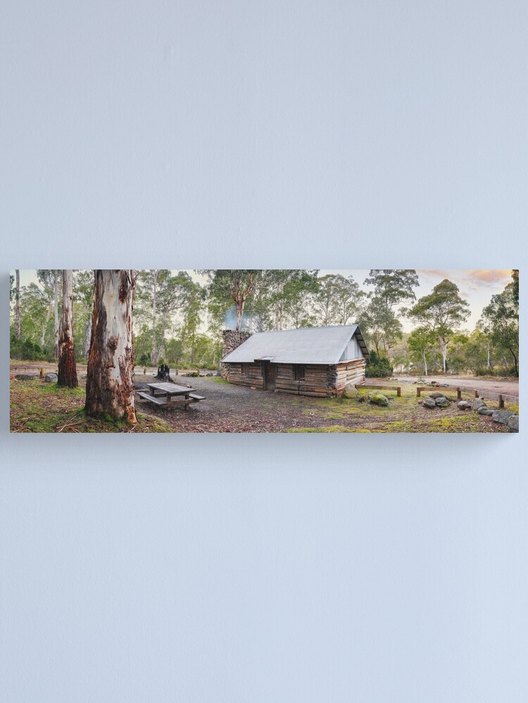 Alternate view of Moscow Villa Hut, Nunniong, Victoria, Australia Canvas Print