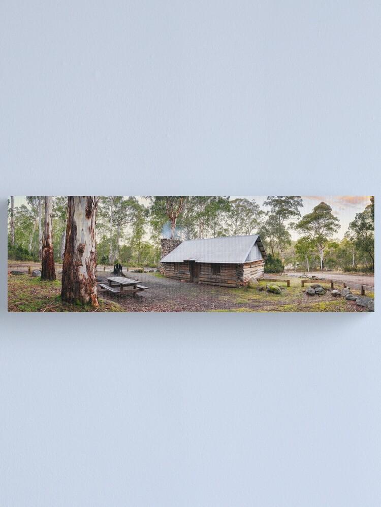 Alternate view of Moscow Villa Hut, Nunniong, Victoria, Australia Canvas Print
