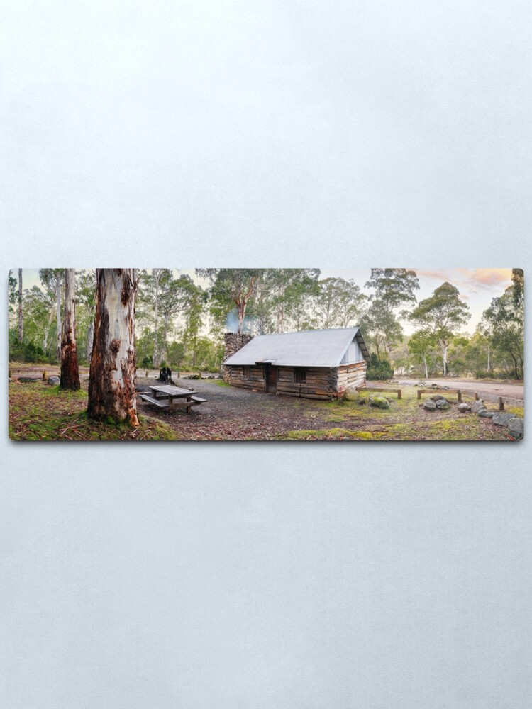 Alternate view of Moscow Villa Hut, Nunniong, Victoria, Australia Metal Print