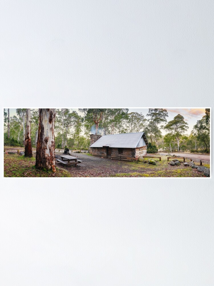 Alternate view of Moscow Villa Hut, Nunniong, Victoria, Australia Poster