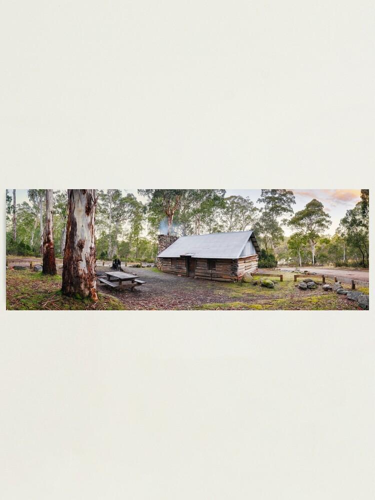 Alternate view of Moscow Villa Hut, Nunniong, Victoria, Australia Photographic Print
