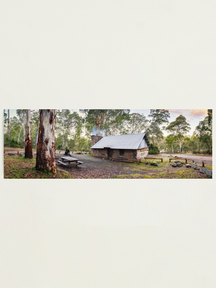 Alternate view of Moscow Villa Hut, Nunniong, Victoria, Australia Photographic Print