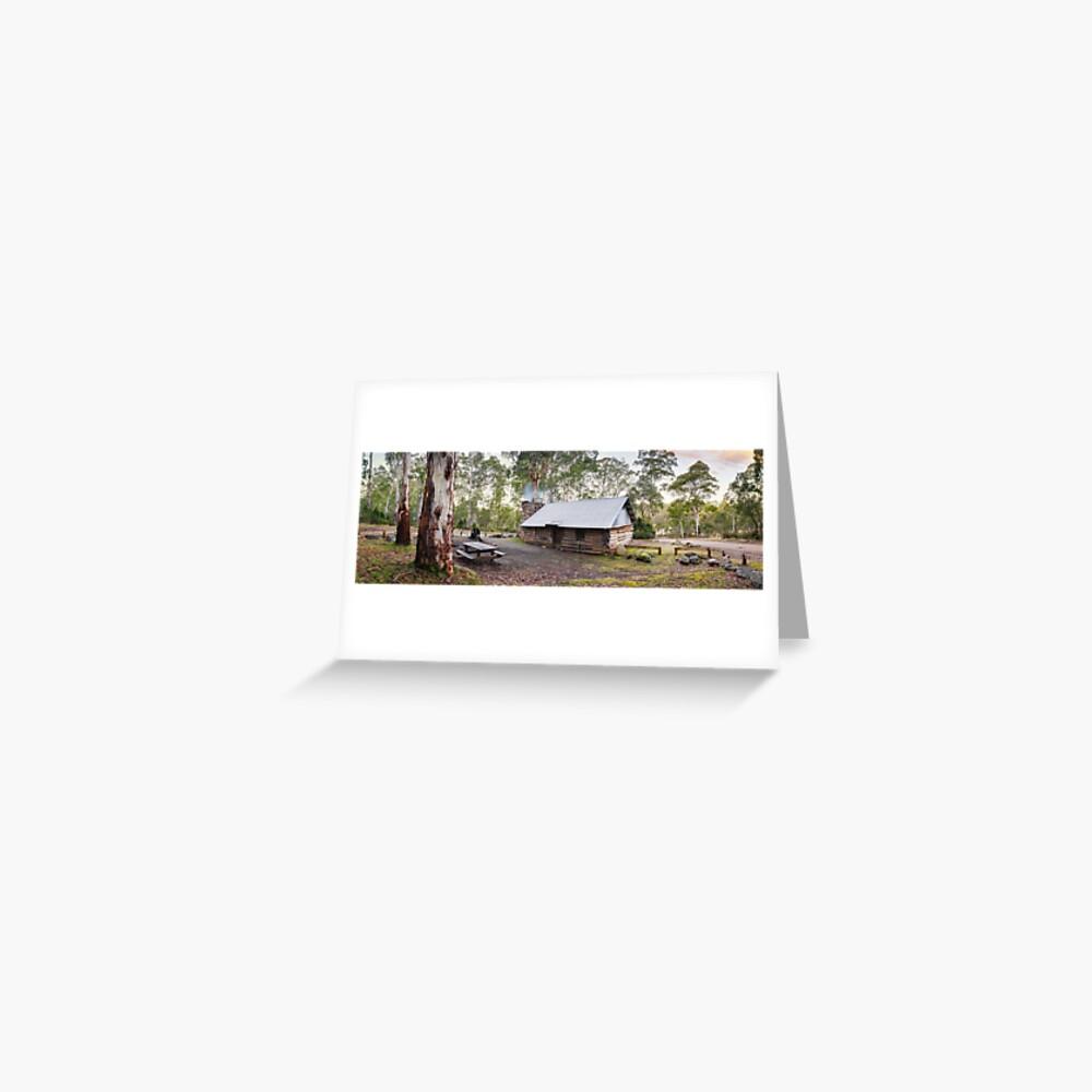 Moscow Villa Hut, Nunniong, Victoria, Australia Greeting Card