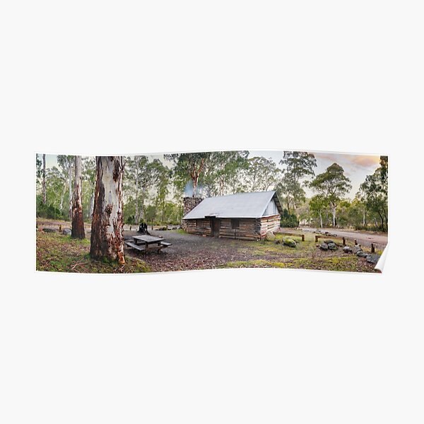 Moscow Villa Hut, Nunniong, Victoria, Australia Poster