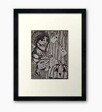Fall in All of its Cliché Fashions (Line Edition) Framed Print