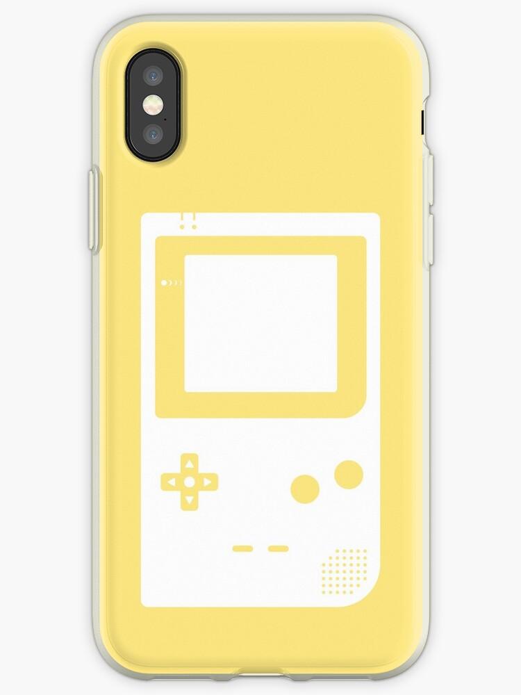 Minimal Gameboy pocket yellow  by animinimal