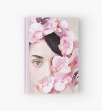 Orchid Mask Hardcover Journal