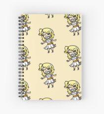 madelief chibi Spiral Notebook
