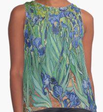 Irises by  Vincent van Gogh Contrast Tank
