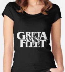 greta van fleet Women's Fitted Scoop T-Shirt