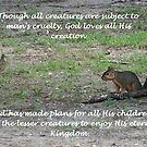 All Creatures Great and Small by Glenna Walker