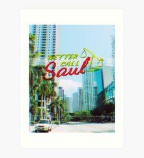 Saul VHS Kunstdruck