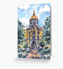 NOTRE DAME DOME Greeting Card