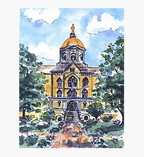 NOTRE DAME DOME Photographic Print