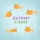 Birthday FIshes by Sophie Corrigan