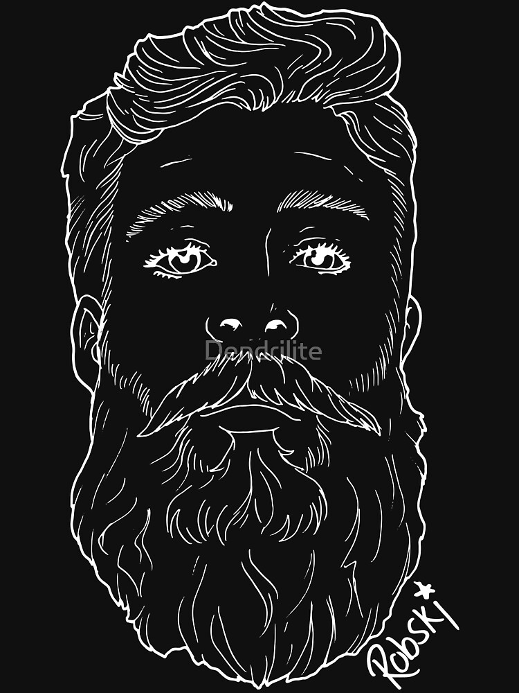 Beardy Man by RobskiArt