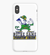 Notre Dame Fightin' Irish iPhone Case/Skin