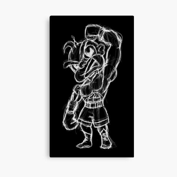 Champion Boxer Canvas Print