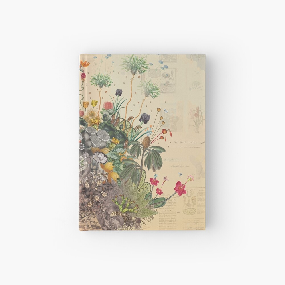 FANTASTIC BOTANICAL Hardcover Journal