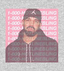 Drake Hotline Bling  Kids Pullover Hoodie