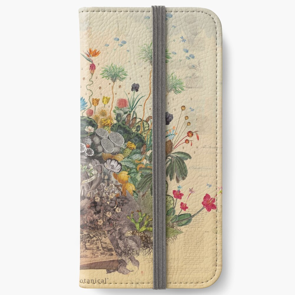 FANTASTIC BOTANICAL iPhone Wallet