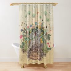 FANTASTIC BOTANICAL Shower Curtain