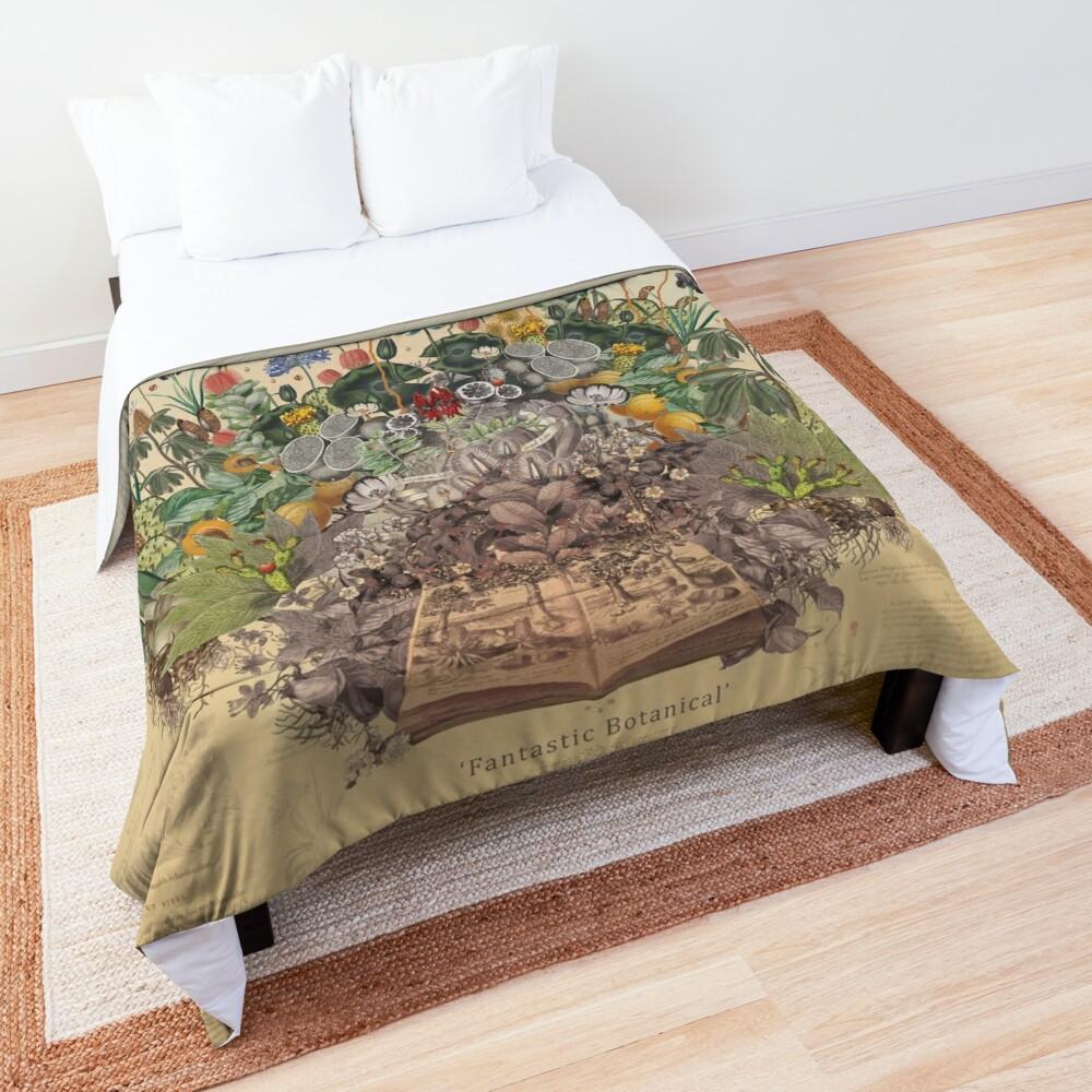 FANTASTIC BOTANICAL Comforter