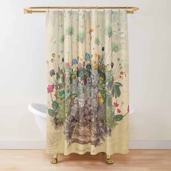 FANTASTIC BOTANICAL Shower Curtain