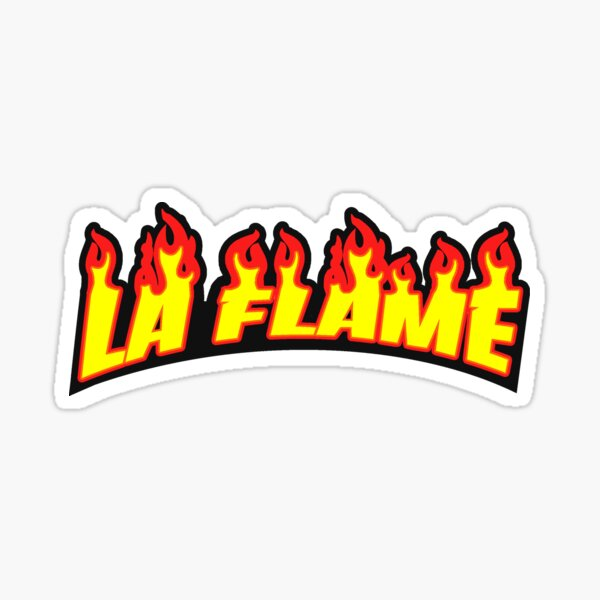 La Flame Sticker