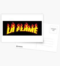 La Flame Postcards