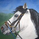 horse painting by moonstone