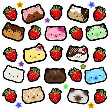 Strawberry Kitties by pochari