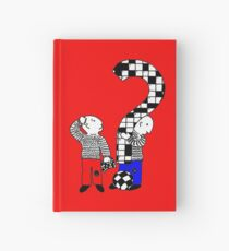 Cross words t-design Hardcover Journal