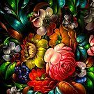 Zhostovo Flowers by BWootla