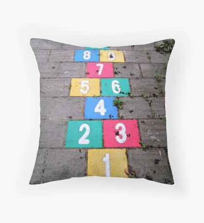 Hopscotch game Floor Pillow