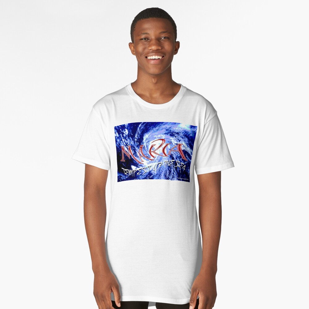 Maria: Tempest of the Sea Long T-Shirt Front