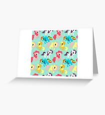 My Little Pony Greeting Card