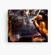 reflections of an addiction Canvas Print