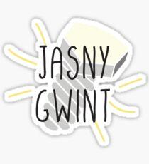 JASNY GWINT - Polnische Sprache Sticker