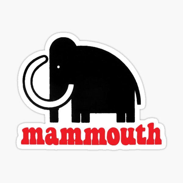 mammouth Sticker