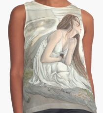 On Silent Wings Contrast Tank