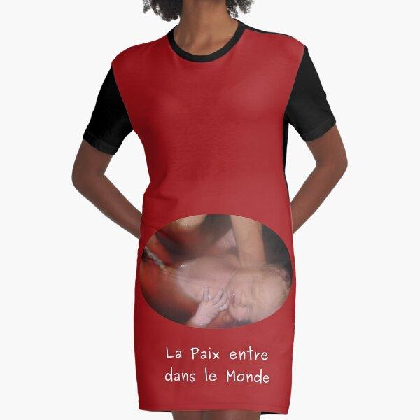 Born sleeping Graphic T-Shirt Dress