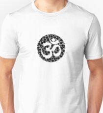 om fun yoga meditation spirituality cute shirt T-Shirt