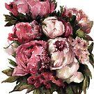 Peony Bouquet by artofsuff